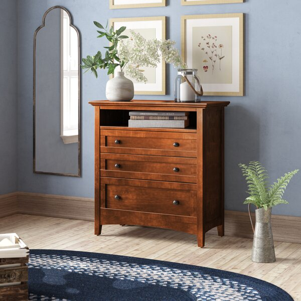 Calila 3 Drawer Chest by August Grove
