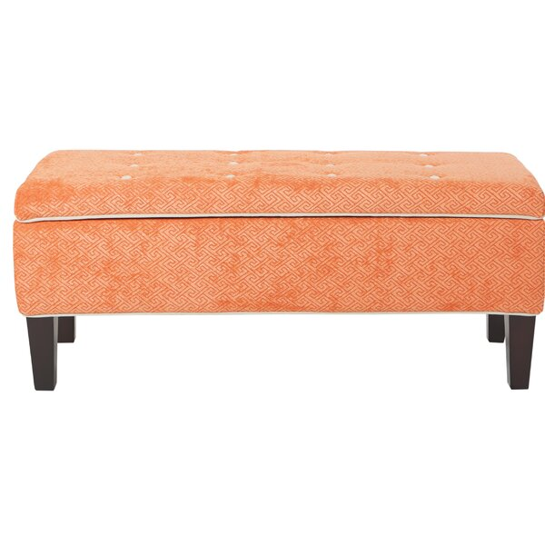 Venice Upholstered Storage Bench by Modern Rustic Interiors