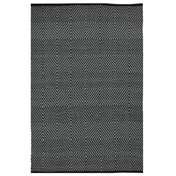 Zen Hand Woven Black/White Indoor/Outdoorarea Rug by Fab Habitat