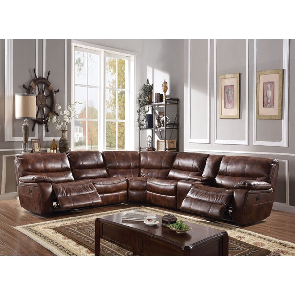 Gaiter Power Motion Reclining Sectional By Red Barrel Studio #1