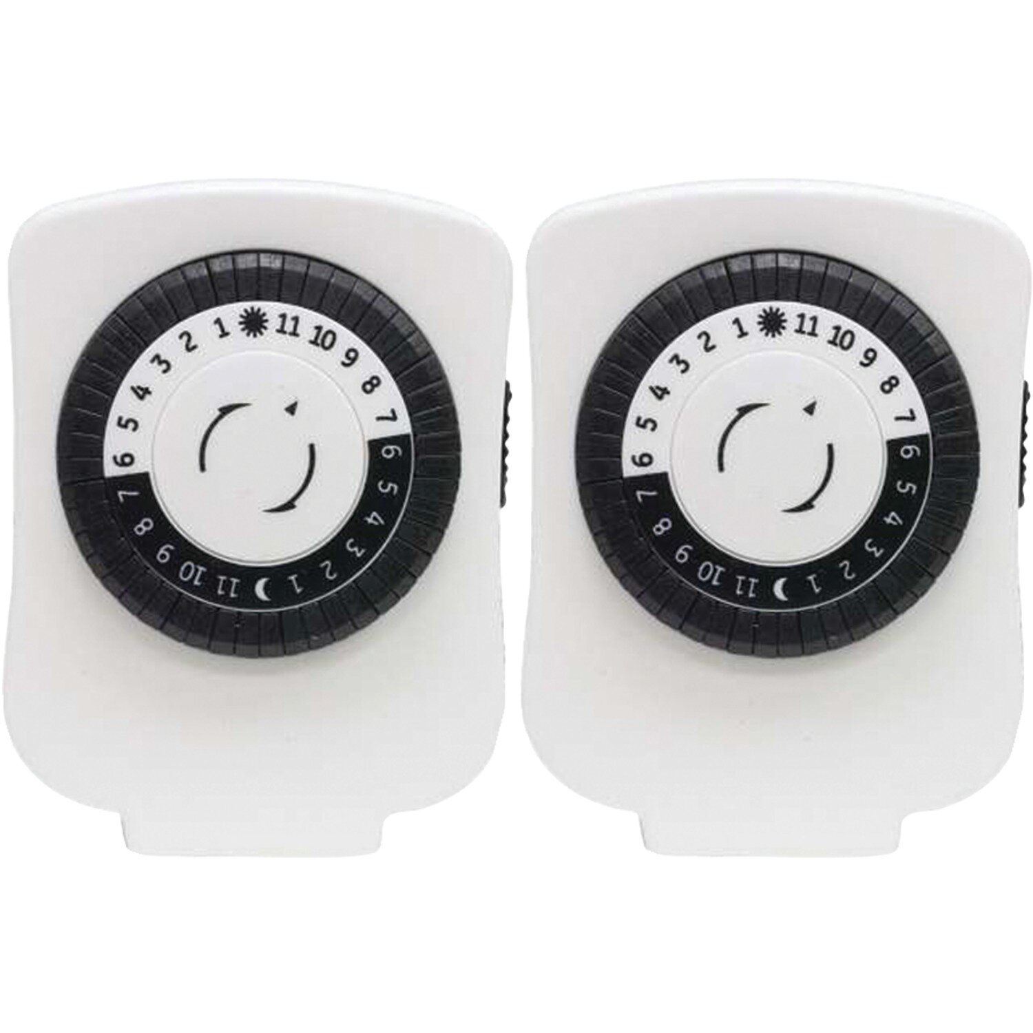 GE Polarized Plug-in Mechanical Timer Wall Mounted Outlet | Wayfair