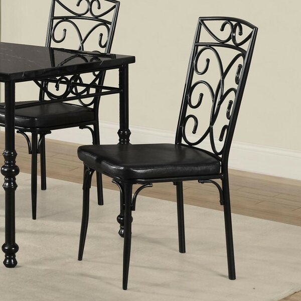 Giraldo Upholstered Dining Chair (Set of 2) by Fleur De Lis Living