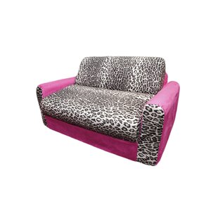 Micro And Leopard Kids Sofa Sleeper