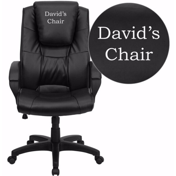 Kropp High-Back Personalized Ergonomic Executive Chair by Symple Stuff