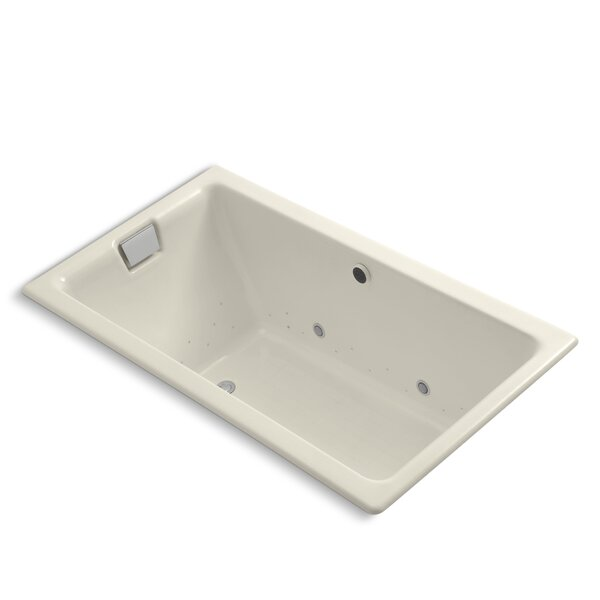 Tea-For-Two Bubblemassage 66 x 36 Whirpool Bathtub by Kohler