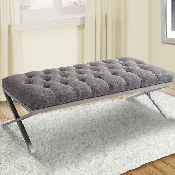 Loden Upholstered Bench by Brayden Studio