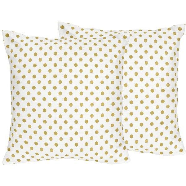 Amelia Cotton Throw Pillow (Set of 2) by Sweet Jojo Designs