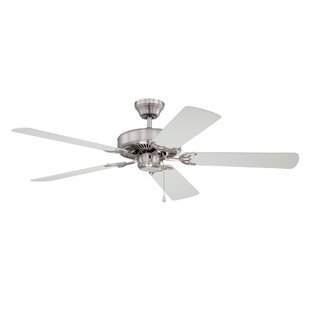 Comparison 52 Builder's Choice 5-Blade Ceiling Fan By Kendal Lighting