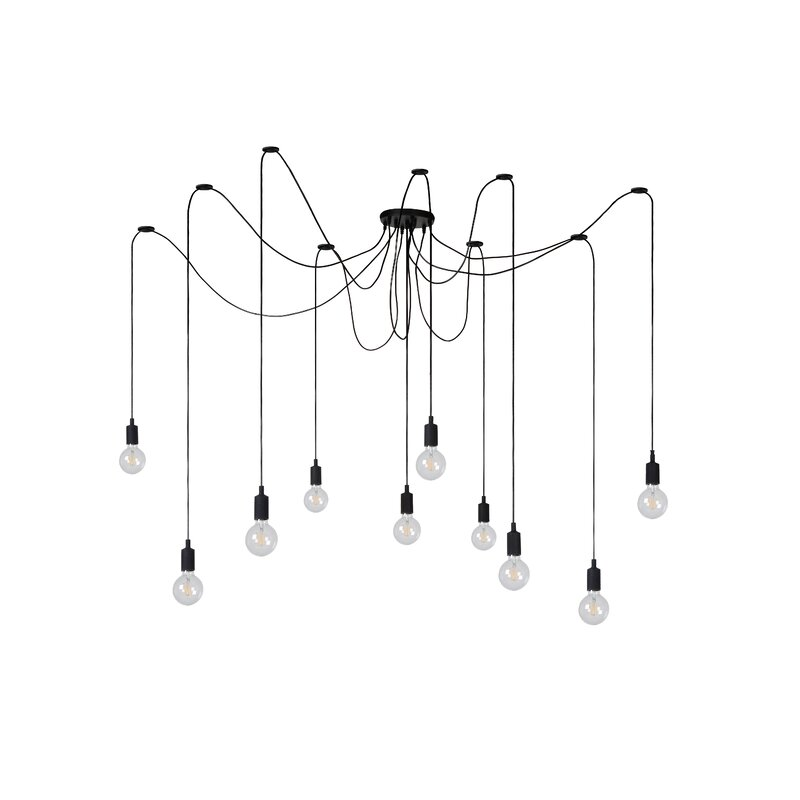 Fix Multiple 10 Light Cluster Pendant by Lucide