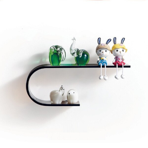 Wall Shelf by Fab Glass and Mirror