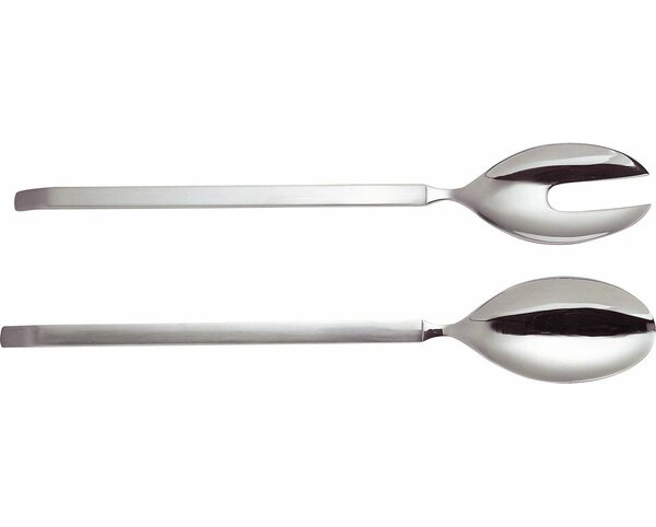 Dry Salad Serving Spoon (Set of 2) by Alessi