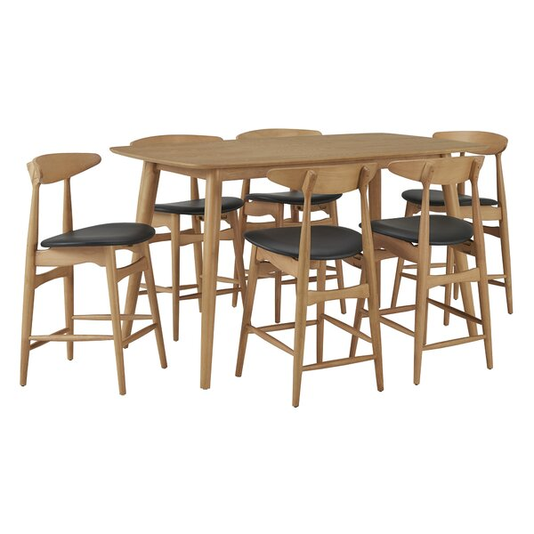 Buffum 7 Piece Pub Table Set by George Oliver