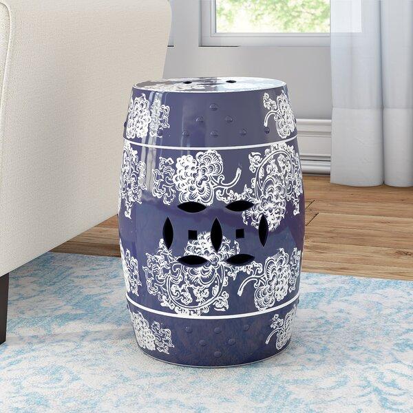 Morgan Ceramic Garden Stool by Willa Arlo Interiors