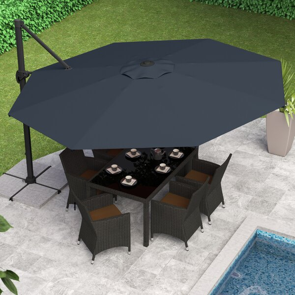 Gribble 11.5' Cantilever Umbrella By Beachcrest Home