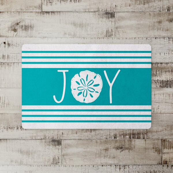 Roxena Joy Sand Dollar Kitchen Mat