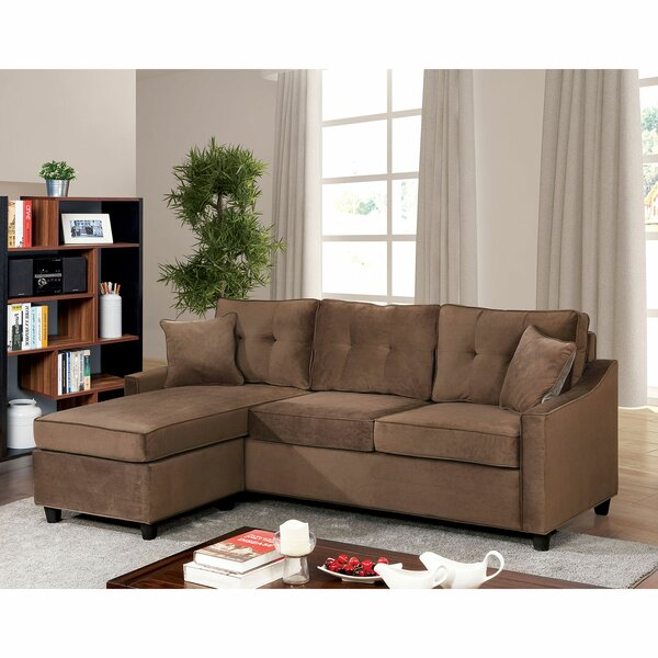 Justin Reversible Sectional by Red Barrel Studio