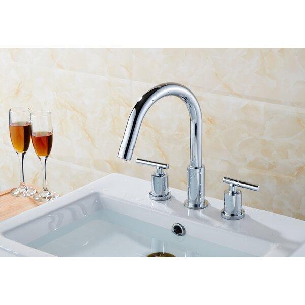 Swan Stainless Steel Widespread Bathroom Faucet
