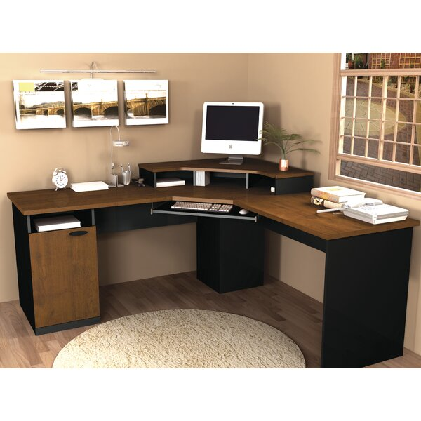 Hampton L-Shape Computer Desk by Bestar