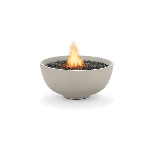 Urth Concrete Natural Gas/Propane Fire Pit by Brown Jordan Fires