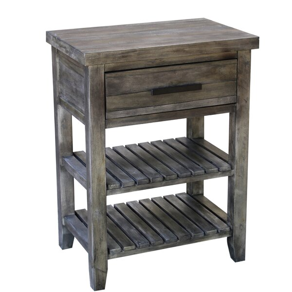 Alberton Side Table With Storage By Loon Peak