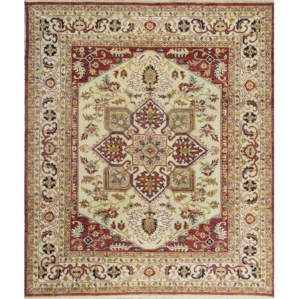 Templeton One-of-a-Kind Hand-Knotted Wool Rust Area Rug by Bokara Rug Co., Inc.