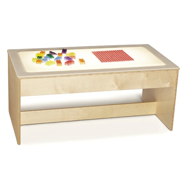 43 x 23 Rectangular Activity Table by Jonti-Craft