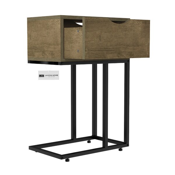 Roiguez End Table with Storage by Williston Forge