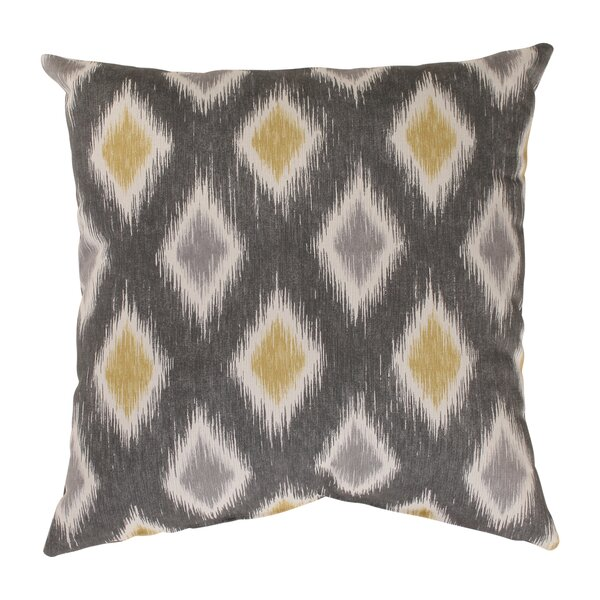 Rutherford Cotton Throw Pillow by Wrought Studio