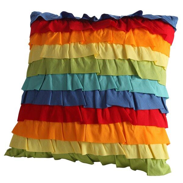 Baja Ruffled Throw Pillow by Fiesta