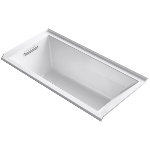Underscore 60 x 30 Air Bathtub by Kohler