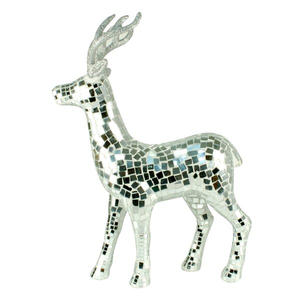 Mosaic Standing Deer by Jeco Inc.