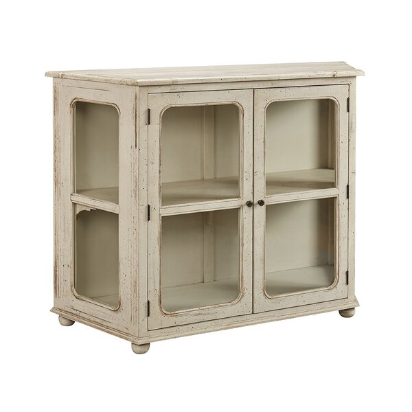 Linney Curio Cabinet by Rosecliff Heights