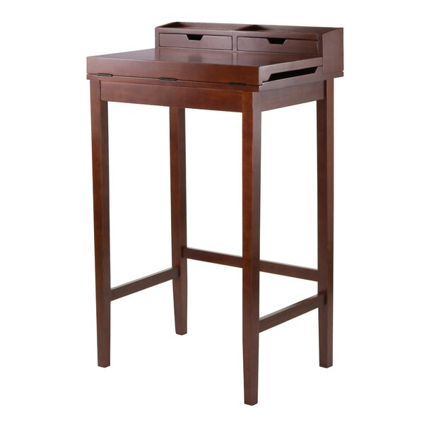 Brighton Secretary Desk with Hutch by Winsome