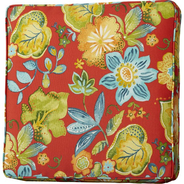 Hiawatha Beach Indoor/Outdoor Dining Chair Cushion by Bay Isle Home