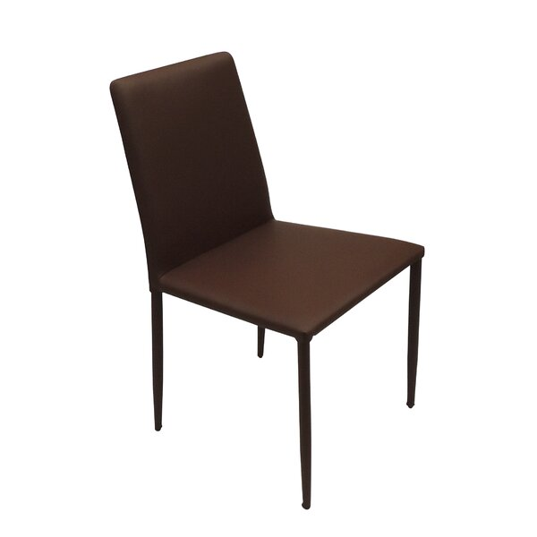Schick Upholstered Side chair by Wrought Studio