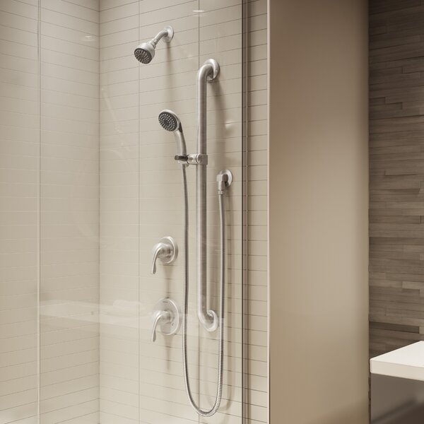 Origins Handshower and Showerhead Combo Kit Trim by Symmons