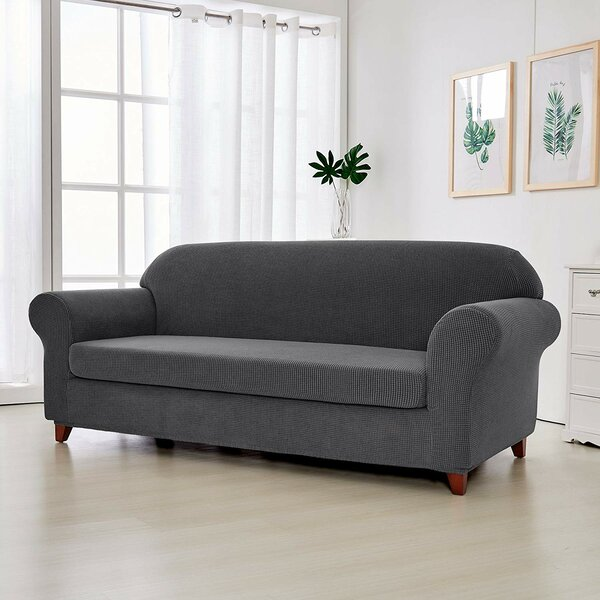 Super Fit T-Cushion Loveseat Slipcover By Red Barrel Studio