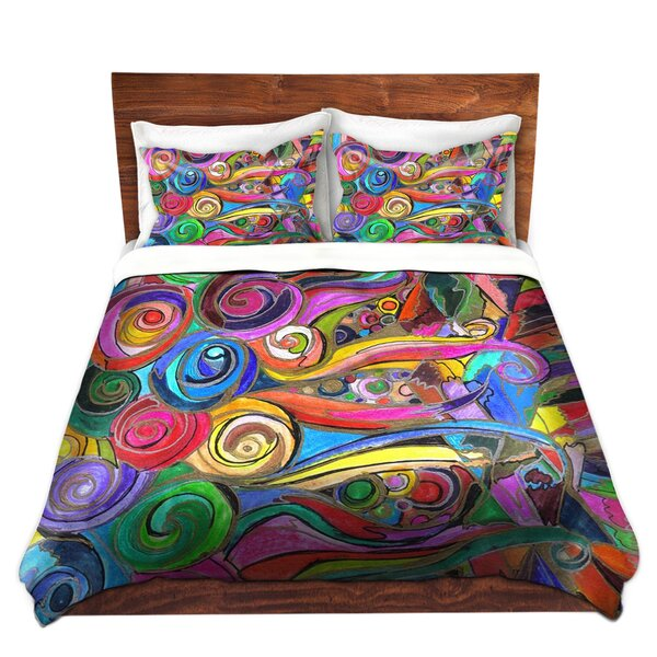 Schram Maeve Wright Rainbow Fragment Microfiber Duvet Covers