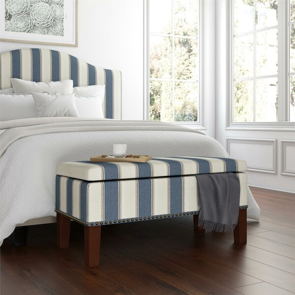 Haygood Upholstered Storage Bench by Gracie Oaks