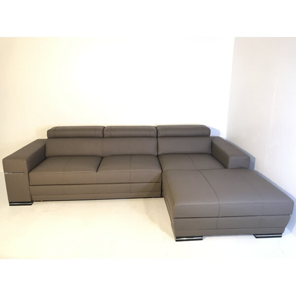 Junie Right Hand Facing Sleeper Sectional By Orren Ellis
