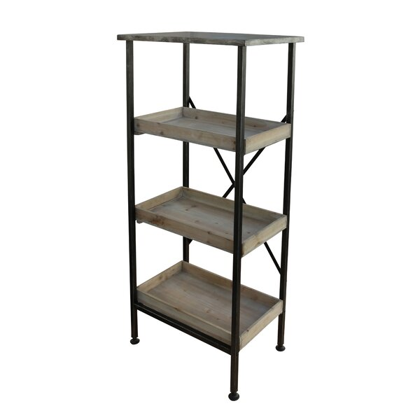 Metal Etagere Bookcase by Cheungs