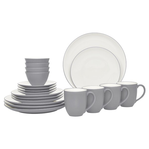 20 Piece Dinnerware Set, Service for 4 by Noritake