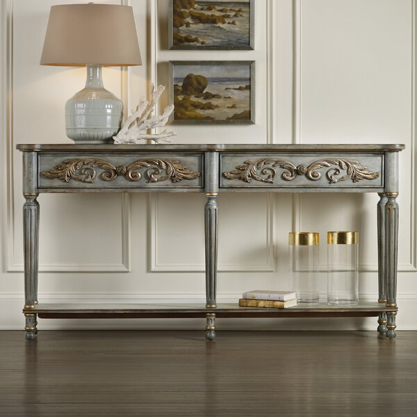 Gilded Console Table by Hooker Furniture