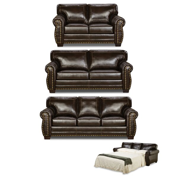 Trafford Sleeper Configurable Living Room Set by Three Posts
