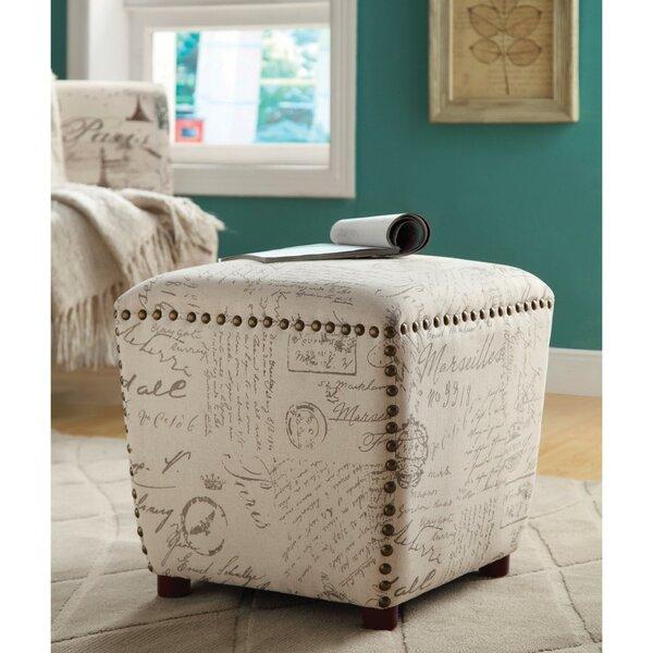 Whitham Petite Cube Vanity Stool by Ophelia & Co.