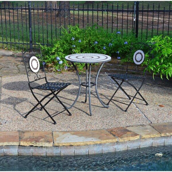 Rosemount Folding Patio Dining Chair (Set of 2) by Fleur De Lis Living