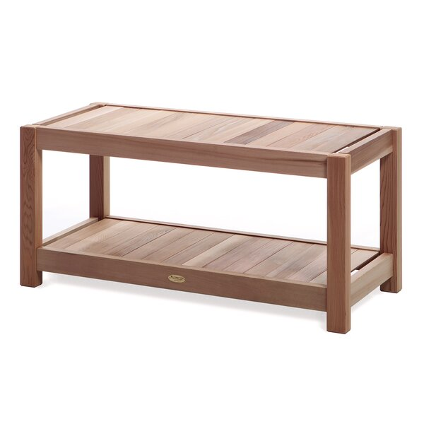 Wood Sauna Bench by All Things Cedar