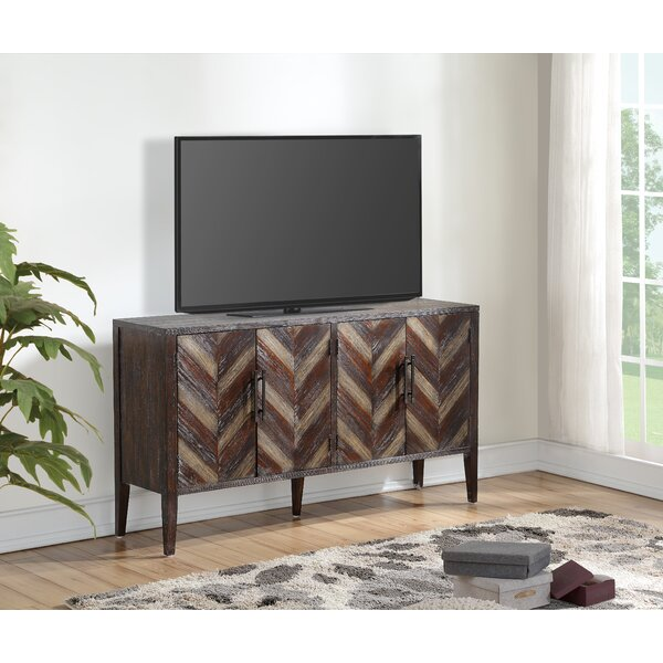 Ivaan Solid Wood TV Stand For TVs Up To 65 Inches By Union Rustic