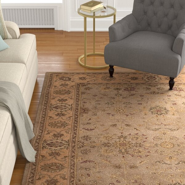 Lundeen Brown/Tan Area Rug by Astoria Grand