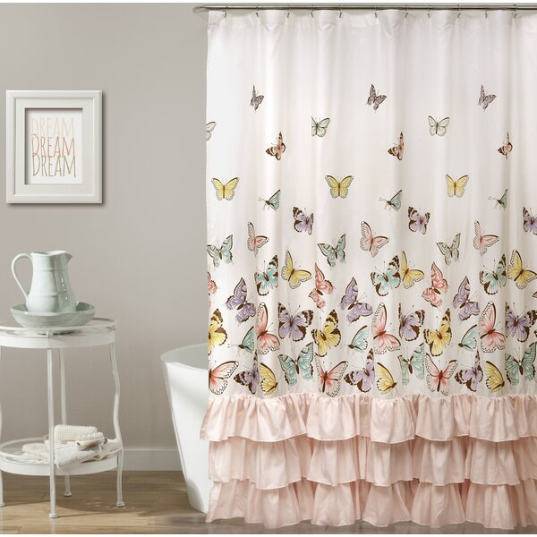 Brant Butterfly Shower Curtain by Viv + Rae